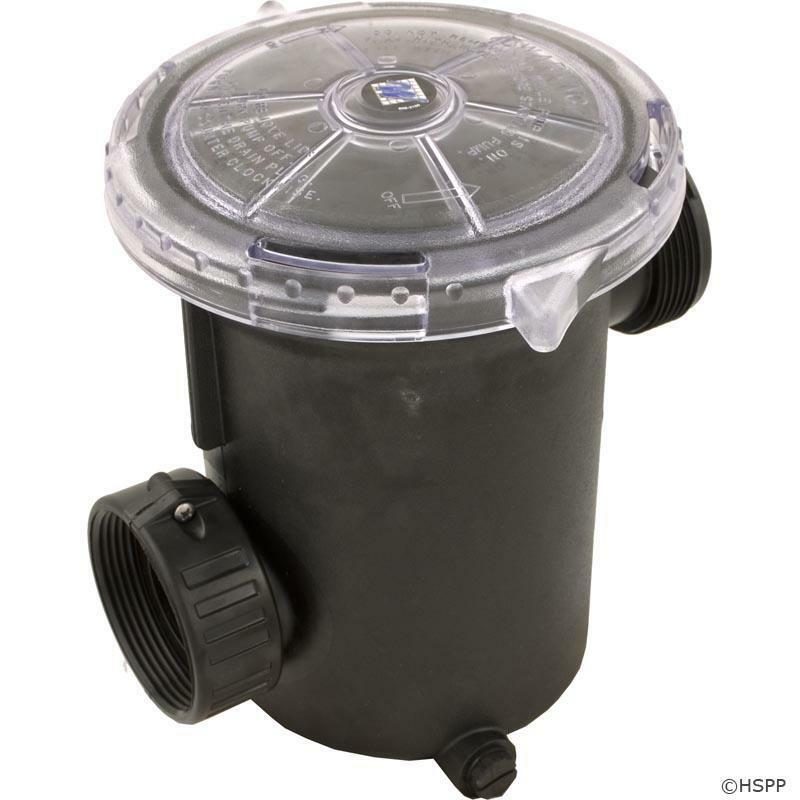 Waterway Hi Flo Series Spa Pool Pump Trap Basket Assembly