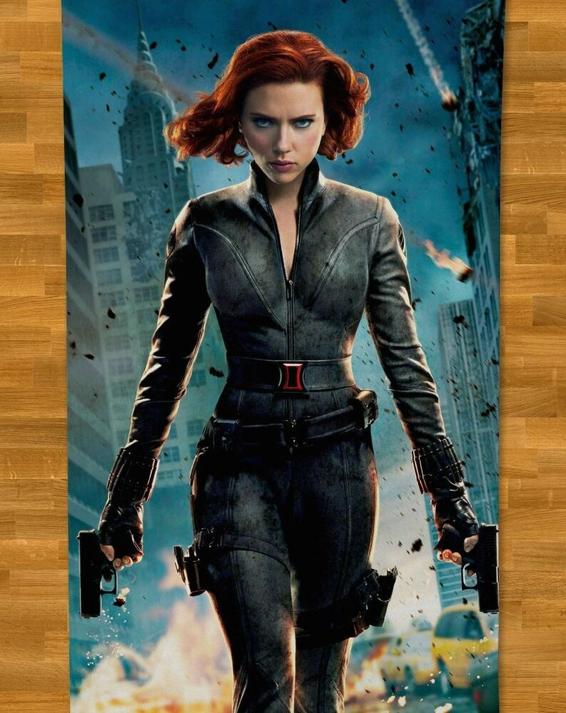 Scarlett Johansson Beach Towel NEW Avengers Captain ...