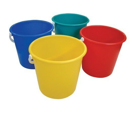 Lucy 10 Litres 2 Gallon Plastic Bucket With Optional Lid