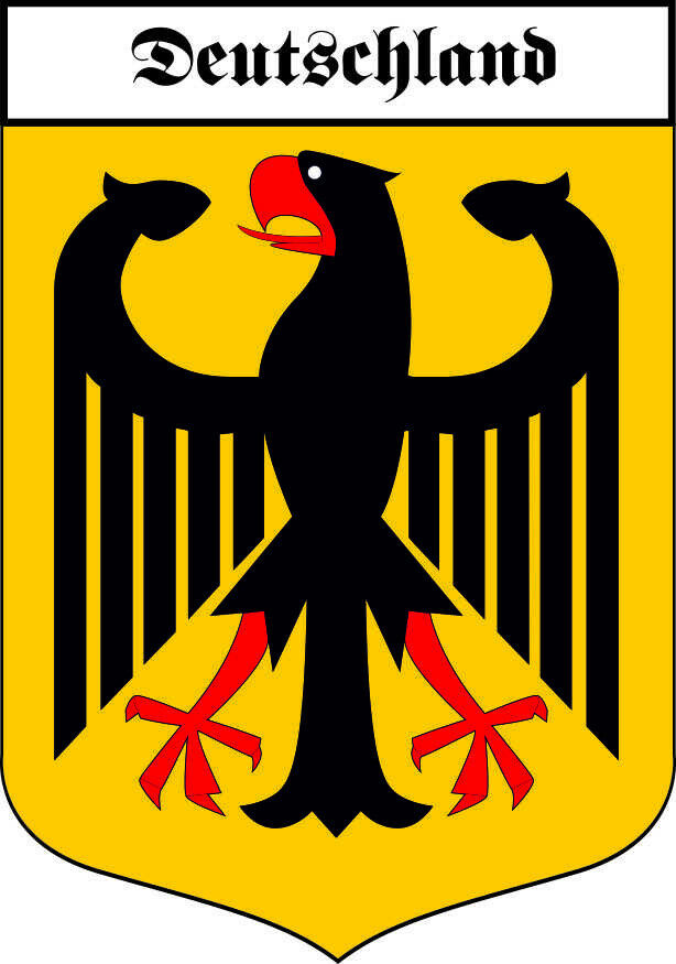 aufkleber deutschland adler wappen bundesadler autoaufkleber sticker ebay. Black Bedroom Furniture Sets. Home Design Ideas