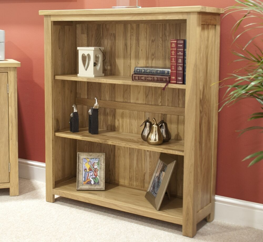 Eton Solid Oak Modern Furniture Small Living Room Office