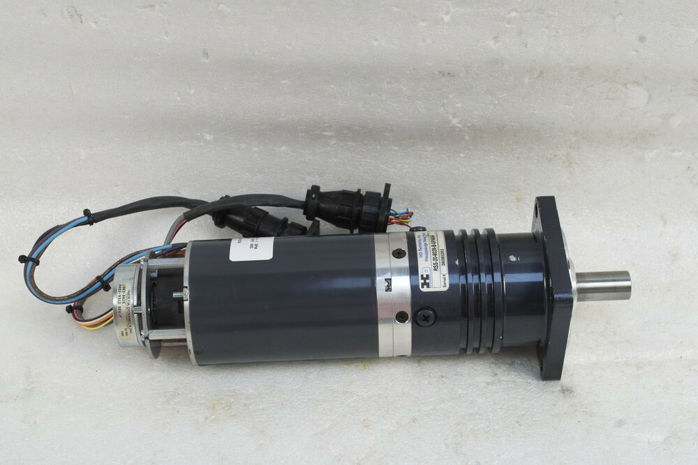 Electrocraft Bldc Motor With Harmonic Drive And Inertia