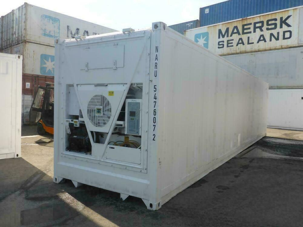 40 fu highc k hlcontainer mit thermo king aggregat tiefk hler reefer k hlzelle ebay. Black Bedroom Furniture Sets. Home Design Ideas