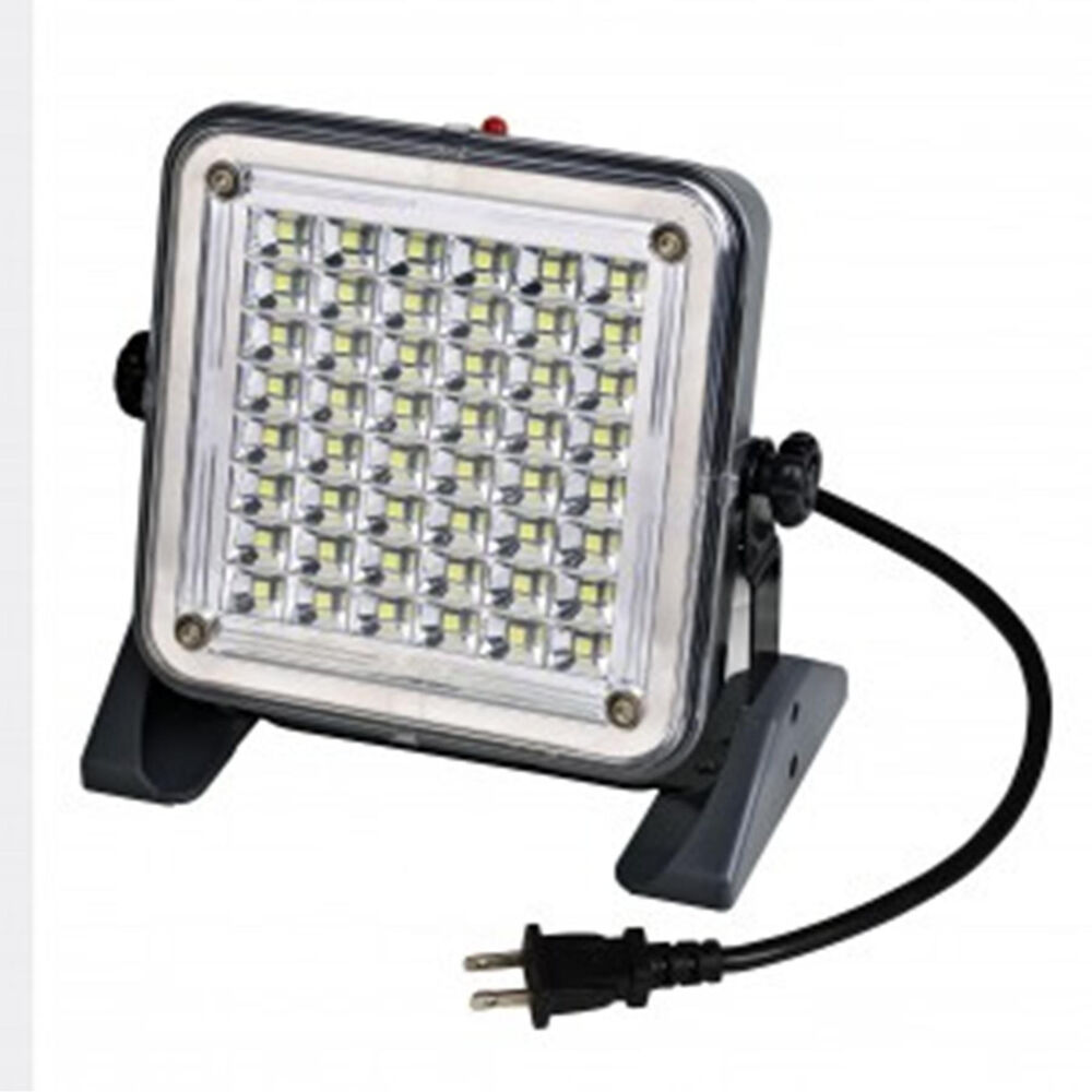 48 SMD LED 750 Lumen Corded Work Flood Light Bright White