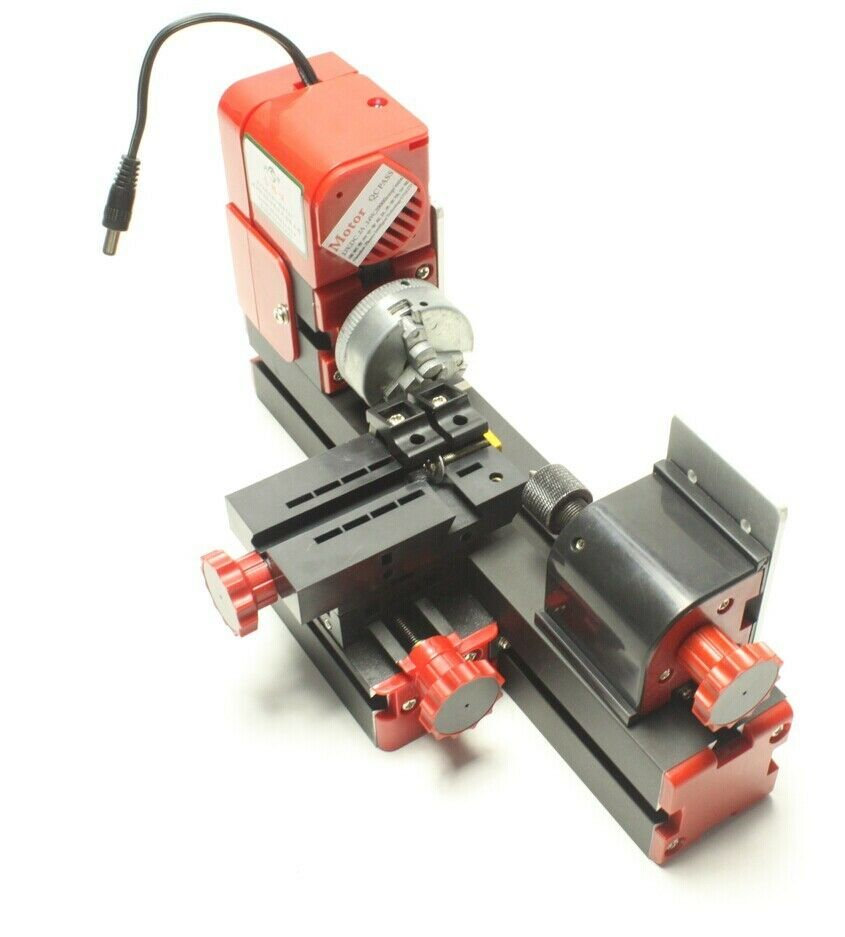 Diy Power Tools Metal Mini Motorized Lathe Machine