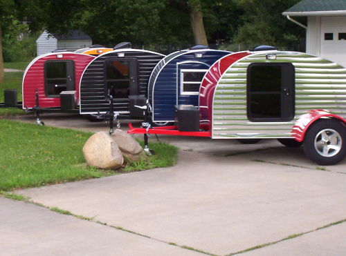 Beautiful Build Your Own RV With Kits Amp Plans For Teardrop Trailers  Fun Times