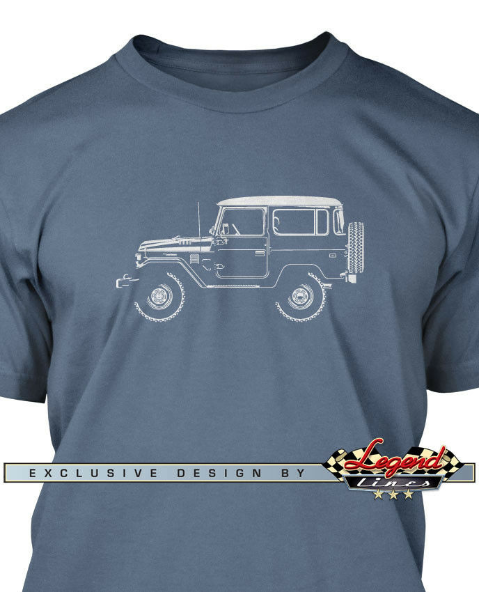 Toyota Bj40 Fj40 Land Cruiser Men T Shirt Multiple
