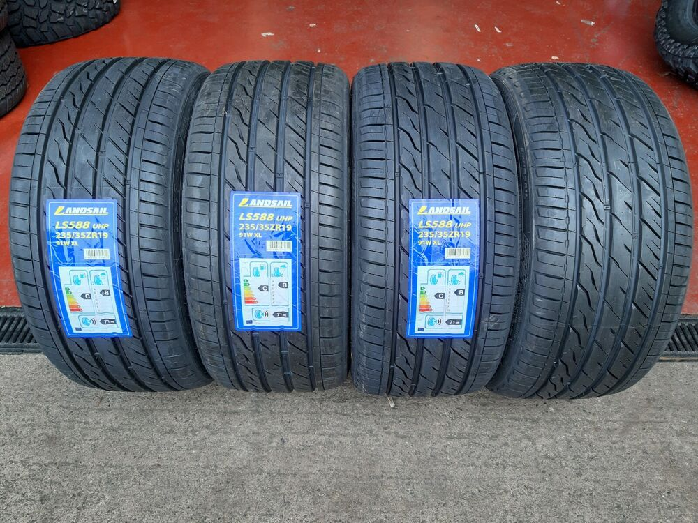 x4 235 35 19 235 35zr19 91w xl landsail tyres amazing c b ratings very cheap ebay. Black Bedroom Furniture Sets. Home Design Ideas