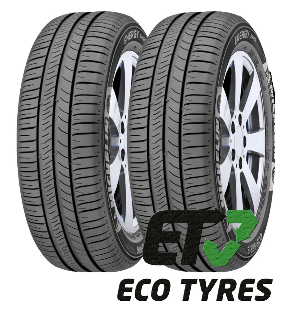 2x tyres 205 60 r16 96v xl michelin energy saver plus b a 70db ebay. Black Bedroom Furniture Sets. Home Design Ideas