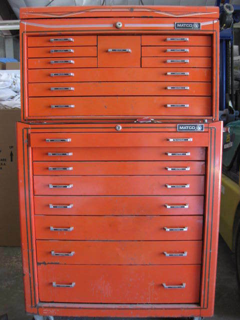 Matco Tool Box Full Of Assorted Matco Snap On Cornwell