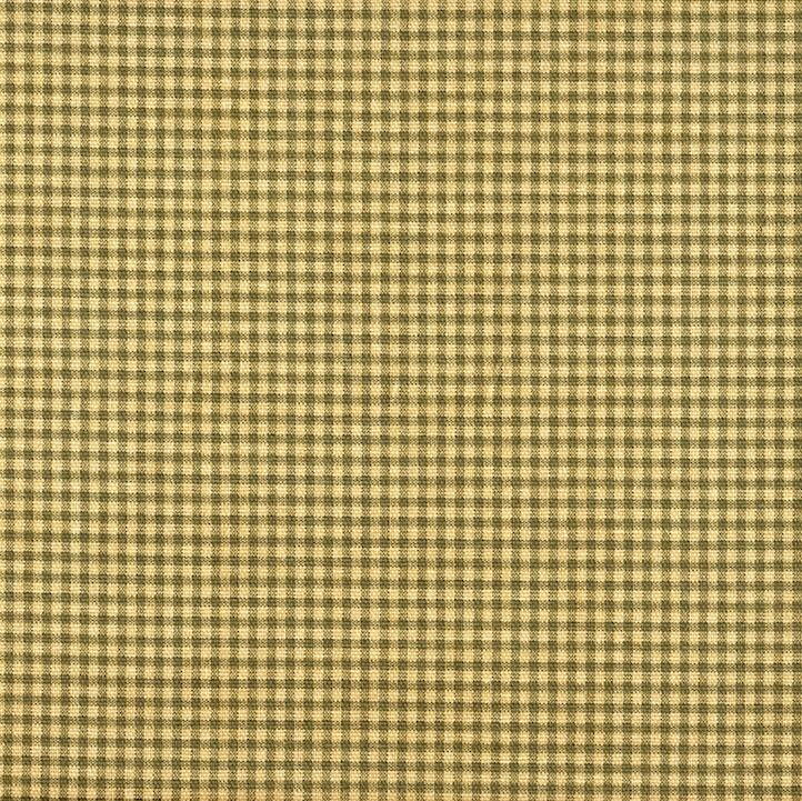 French Country Gingham Check Document Green 90 Quot Round
