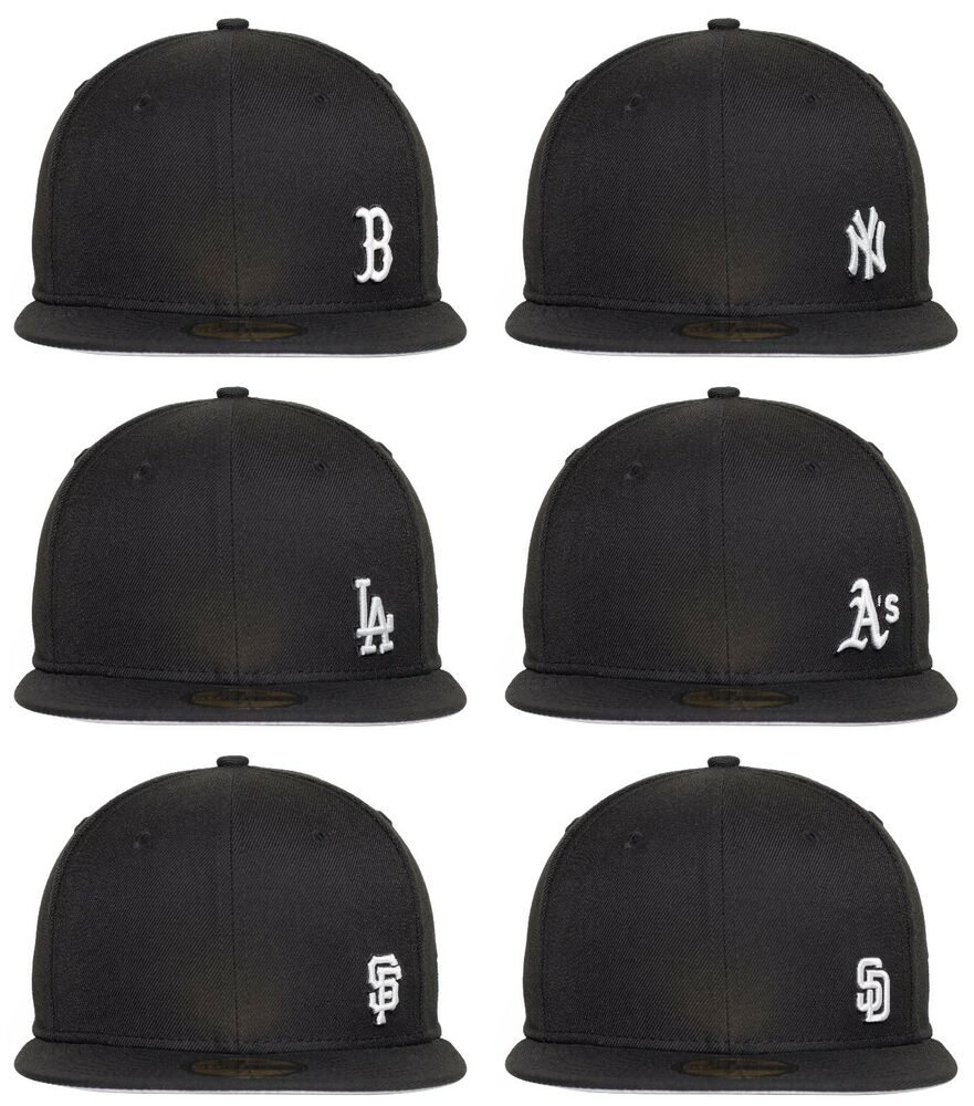 New Era 59fifty Flawless Mini Logo Mlb Baseball Fitted