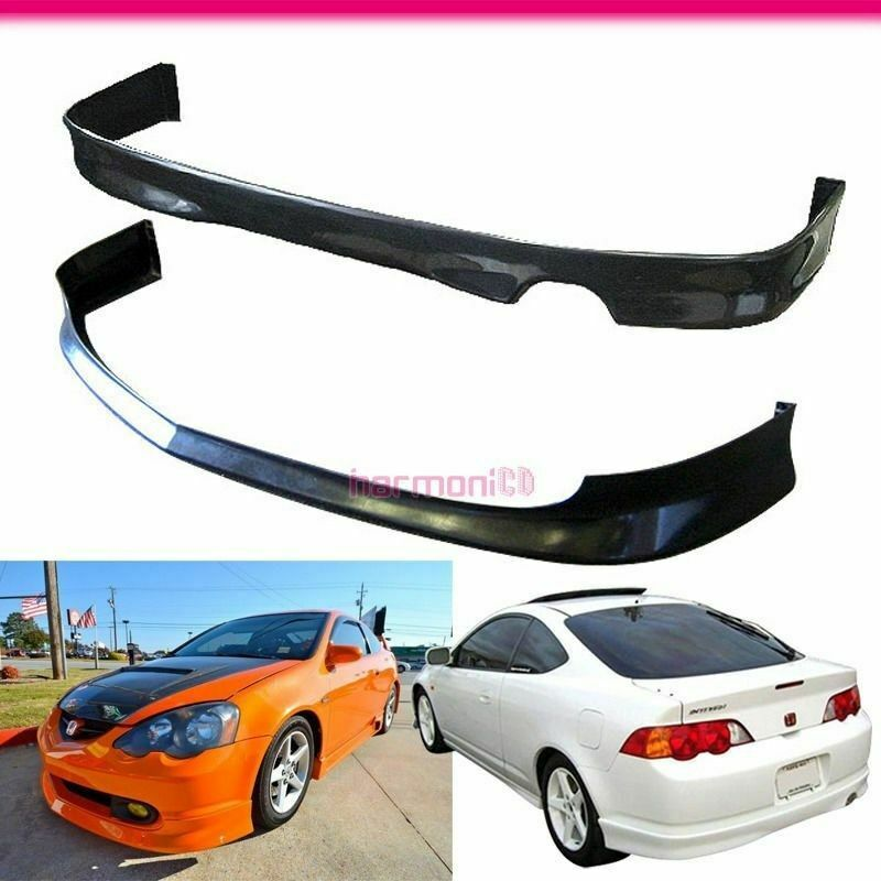 Hot Sale For 2002-2004 Acura RSX 2DR PU Front+Rear Bumper