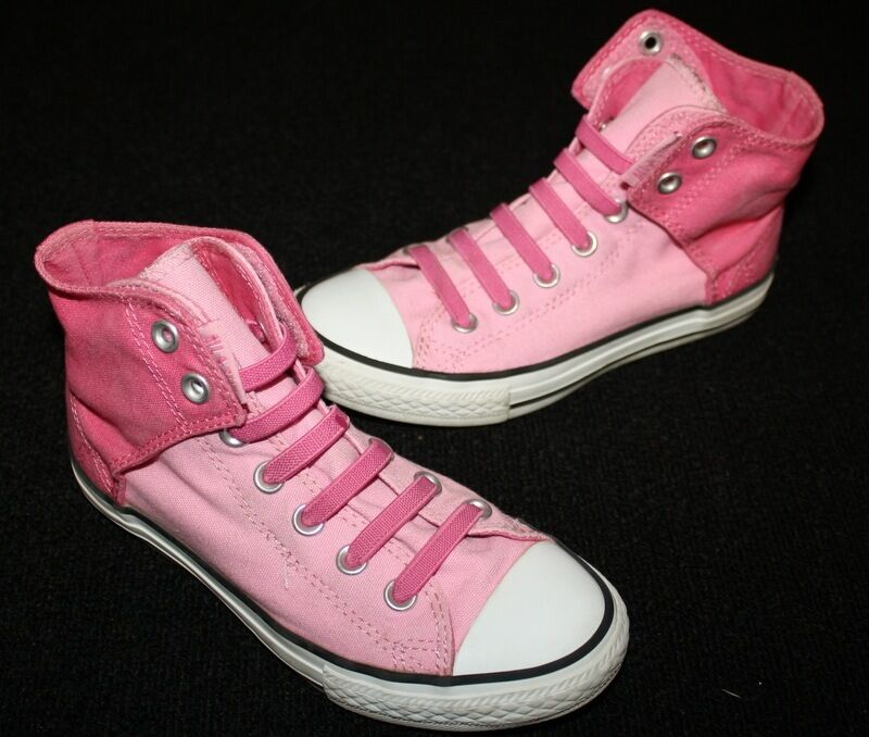 Pink High Top Converse Shoes