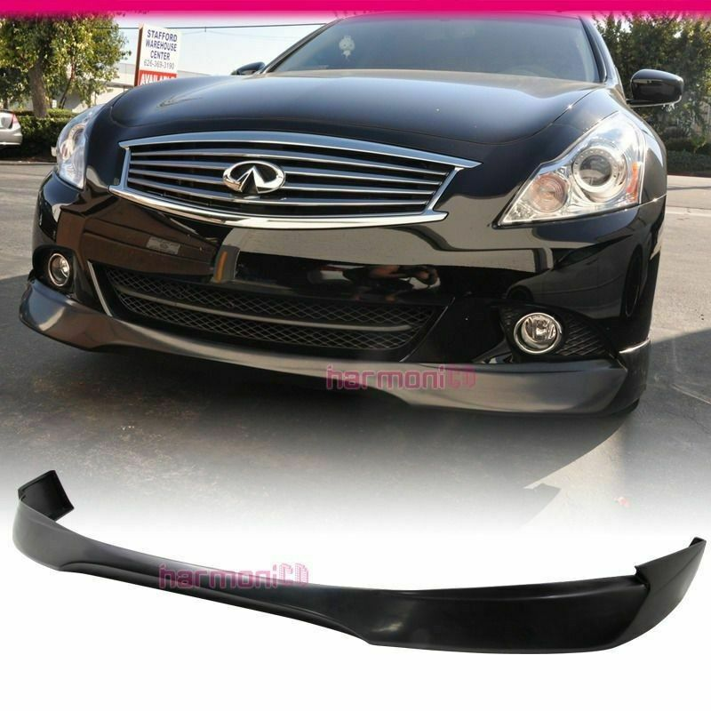 Evo Body Kits >> Fit For 11-12 Infiniti G25 10-13 G37 Sedan 4DR Front Bumper Lip EVO Style | eBay