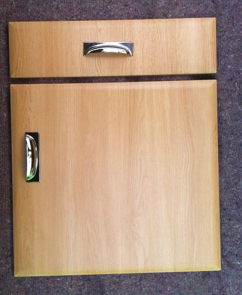 Replacement Oak Kitchen Cabinet Doors: Light Oak Kitchen Unit Cabinet Cupboard Doors To Fits