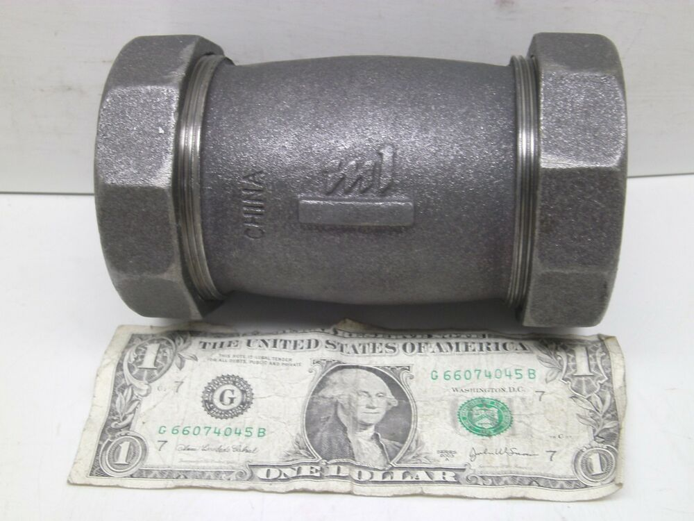 New black iron quot coupling coupler splice pipe fitting see
