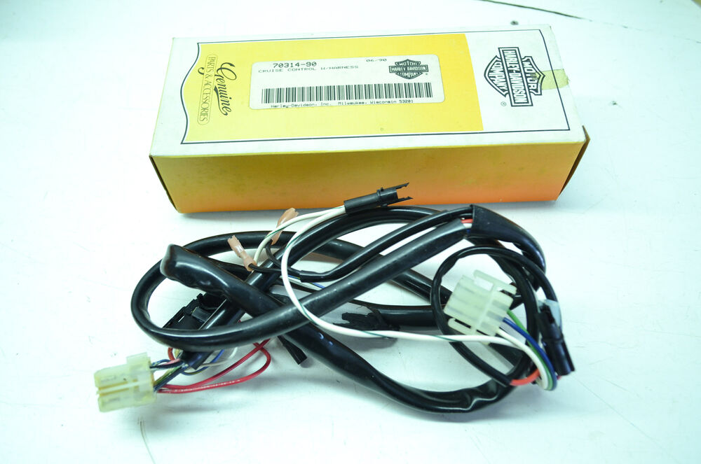 New oem harley davidson cruise control wire harness kit