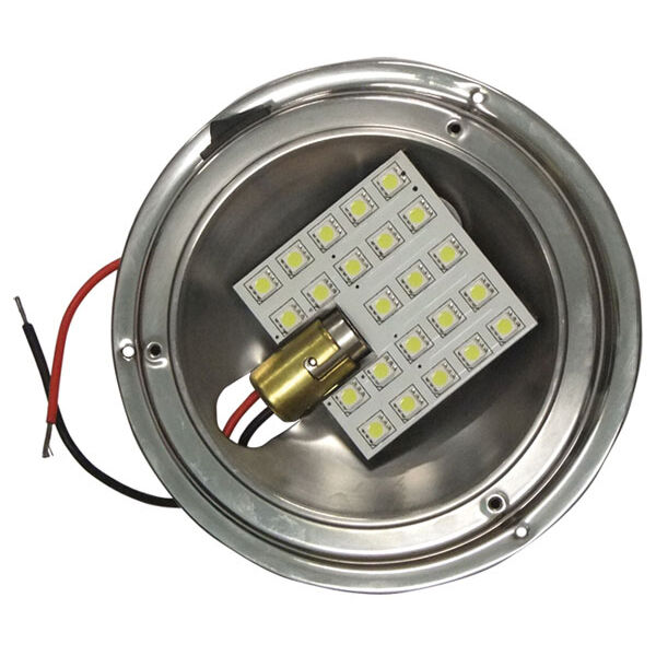 Boat LED CARAVAN INTERIOR DOME LIGHT UPGRADE 12v HIGH