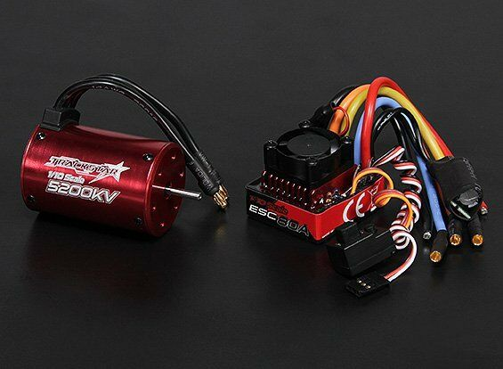 Rc turnigy trackstar waterproof 1 10 brushless power for 10 5 t brushless motor