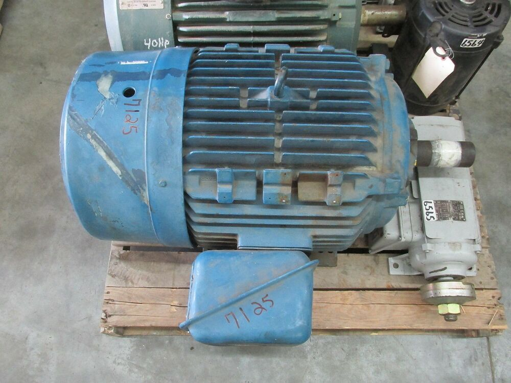 Ac Electric Motor 60 Hp 1800 Rpm 230 460 Volt 3ph 364