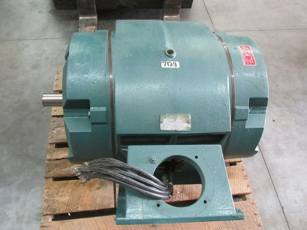 Ac electric motor 300 hp 1780 rpm 460 volt 3 60 445ts for 60 hp electric motor