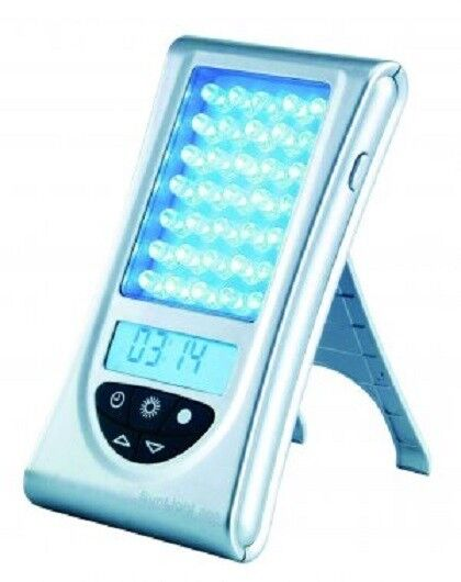 Portable Sad Light Therapy Adjustable Light Intensity