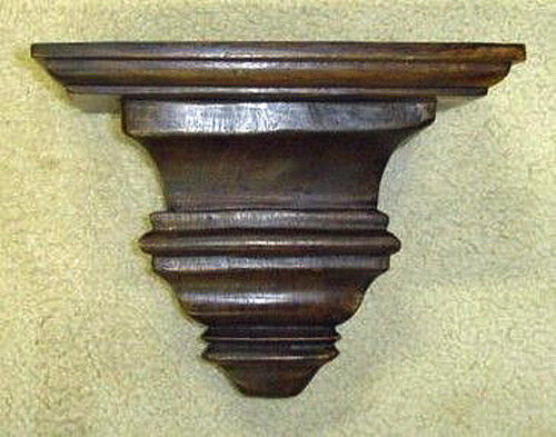 wall shelf sheridan decorative wall bracket wooden wall bracket ebay. Black Bedroom Furniture Sets. Home Design Ideas