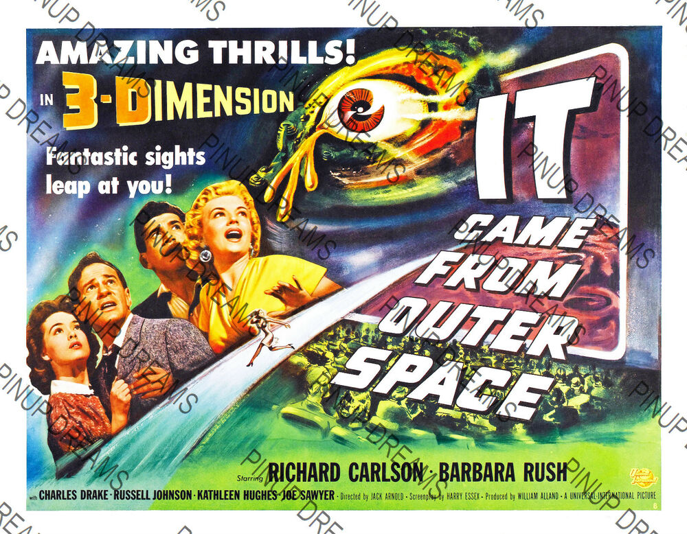 Cult 50 39 s film it came from outer space classic vintage for Watch it came from outer space