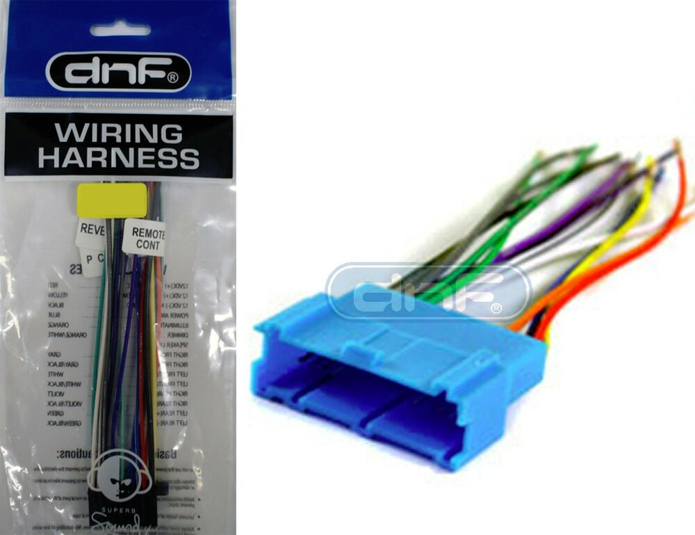 gm car stereo cd player wiring harness aftermarket radio ... gm stereo wiring diagram 1979 c20 gm stereo wiring