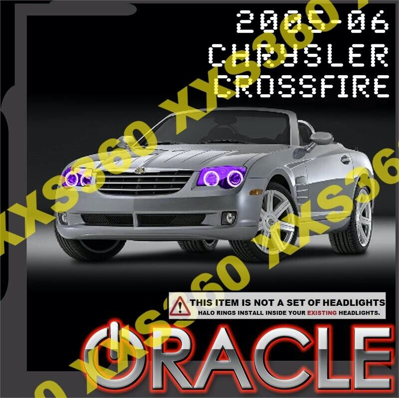 Purple Chrysler 300 Accessories Google Search: ORACLE Chrysler Crossfire 2005-2006 PURPLE LED Headlight