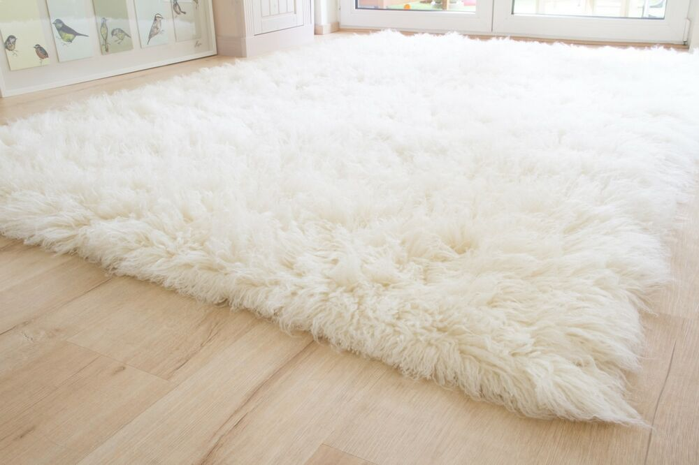 Shaggy wool flokati rug from greece 1500gsm ivory natural - Tappeti flokati ...