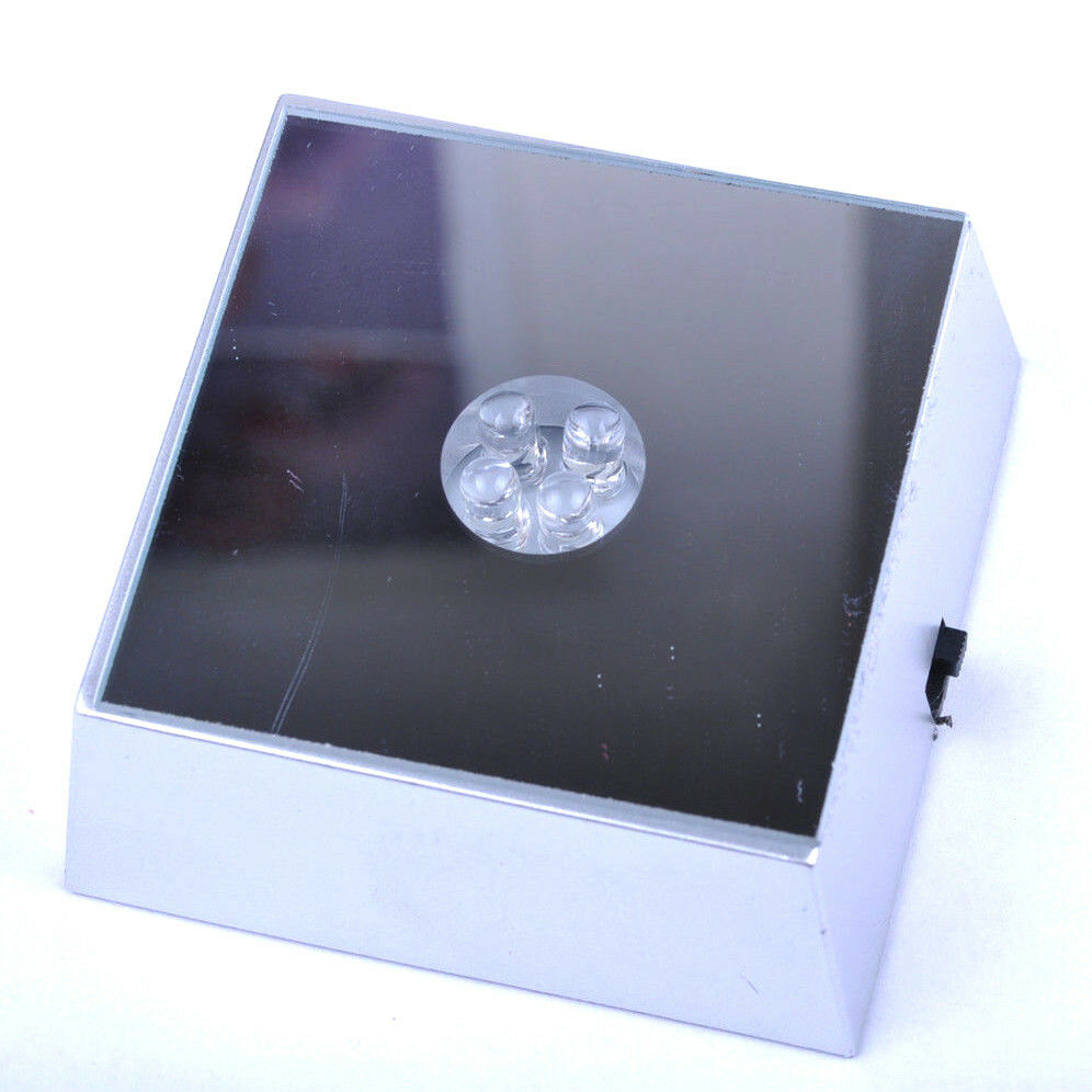 Hot Sell Beautiful Led Light Crystal Display Base Stand 4