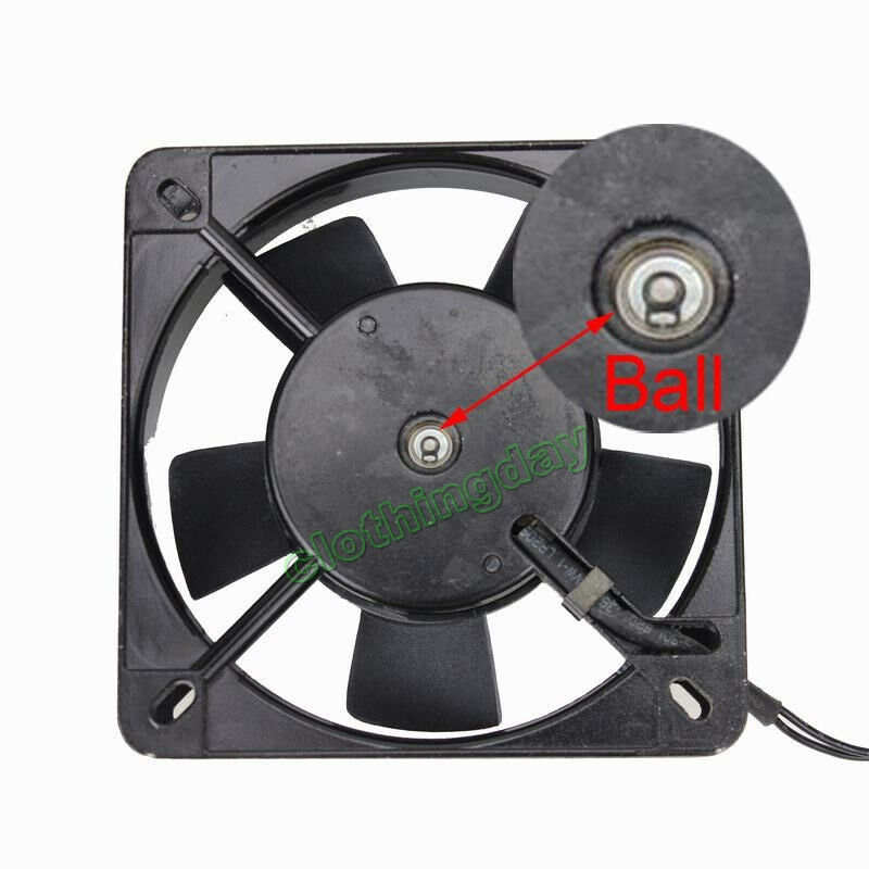 Cooling Fans For Electronic Equipment : Ball bearing ac v cm mm wire