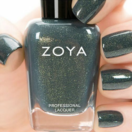 Metallic Gold Nail Polish: ZOYA ZP759 YUNA Ignite Collection