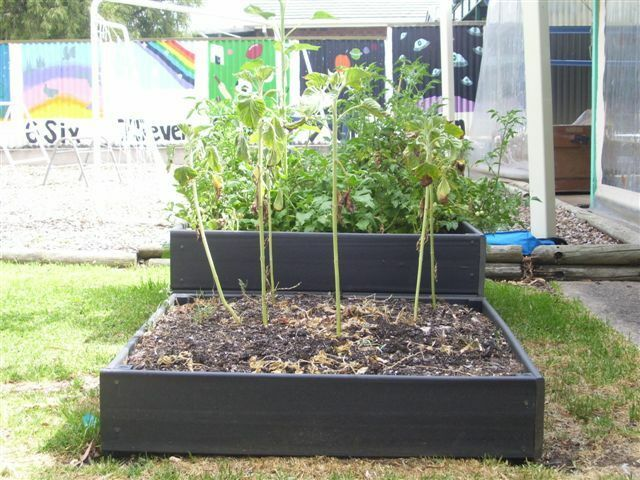Raised Garden Bed Kit Single Teir Longlife Composite