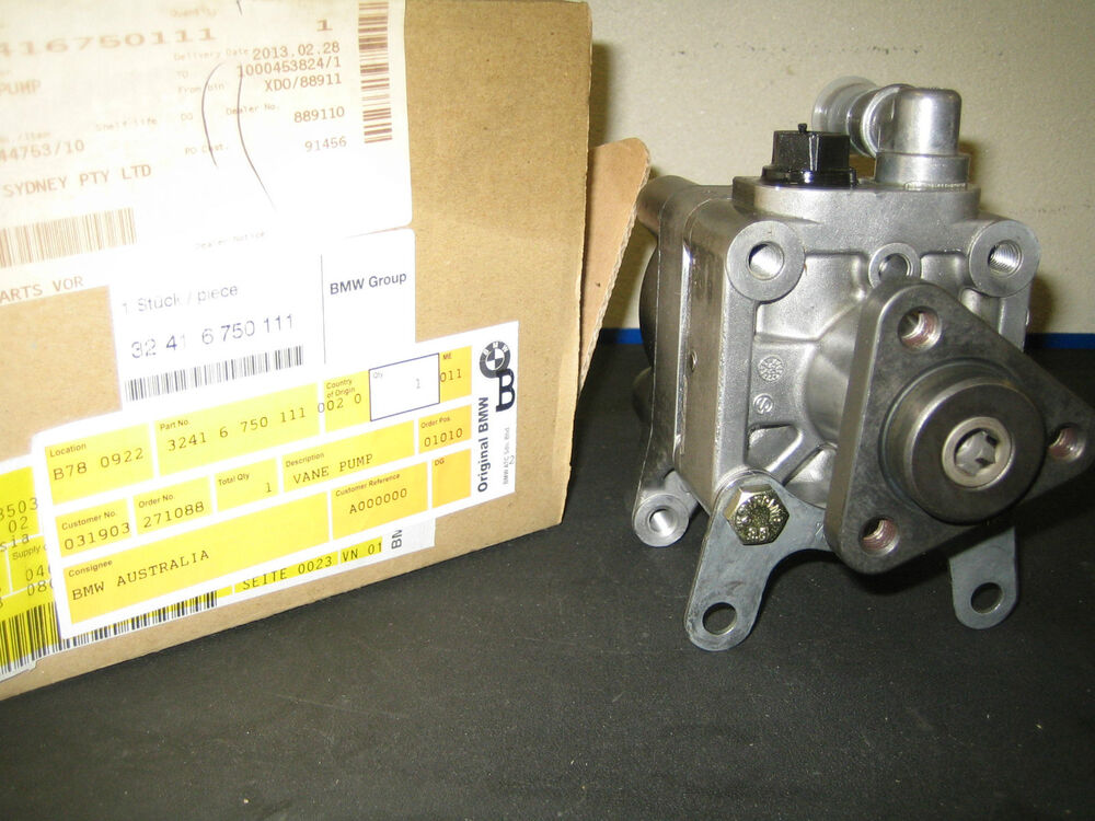 bmw 318i e46 power steering pump 32416750111 ebay. Black Bedroom Furniture Sets. Home Design Ideas
