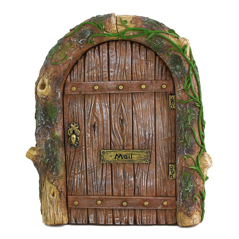 Fairy garden miniature mystical fairy door mini for Outdoor fairy door