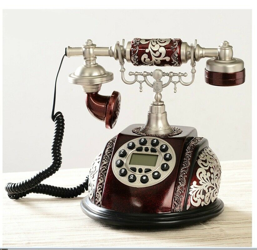 vintage home phone antique european style corded telephone retro vintage home 3207