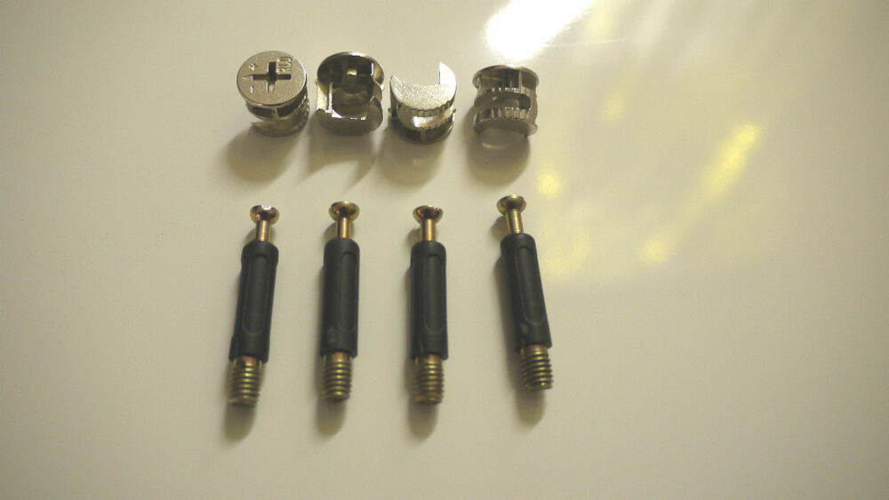 Pack of locking cam bolts furniture fittings flatpack