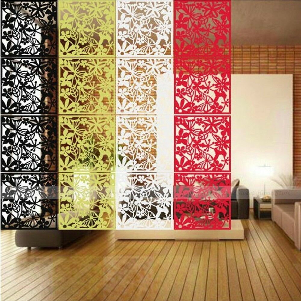Hanging screen partition room divider curtain panel wall for Home decorations on ebay