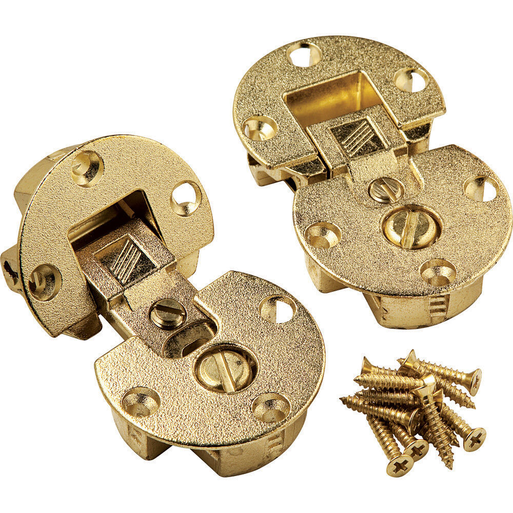 Brass Fully Adjustable Concealed Fall Flap Hinges Ebay