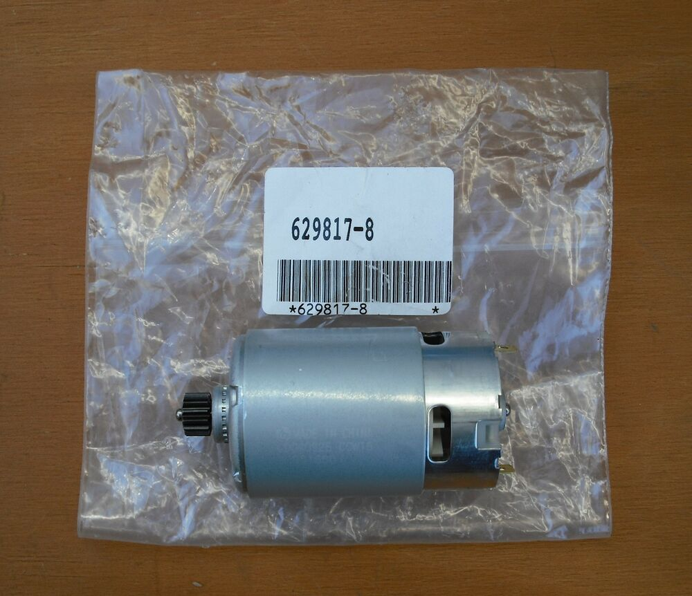 Makita 12v dc motor unit fit 6270d 6271d new part no for Battery powered dc motor