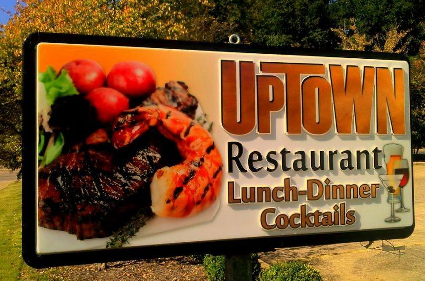 Http Www Ebay Com Itm Large Lighted Outdoor Business Sign Restaurant Double Sided Approx 8x5 261595006263