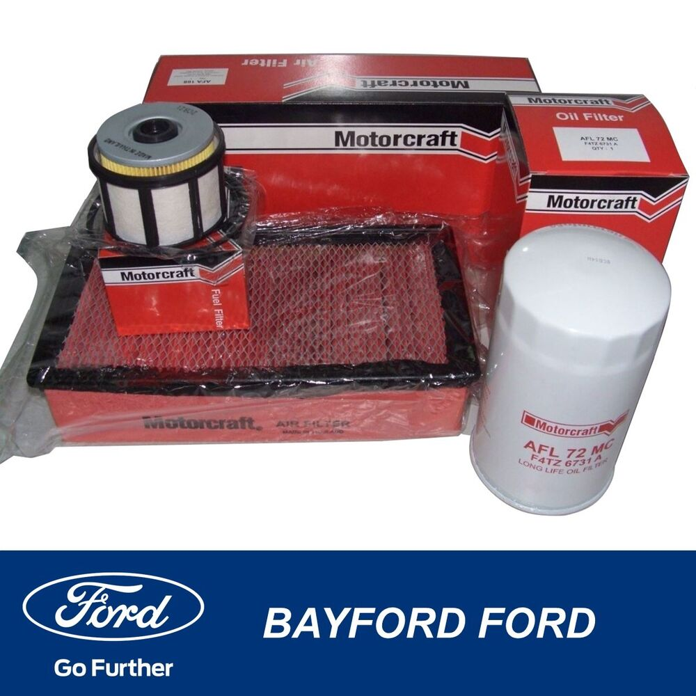 08 09 Ford Focus New Air Cleaner Filter: DIESEL OIL AIR & FUEL FILTER SERVICE KIT FORD F250 F350 7