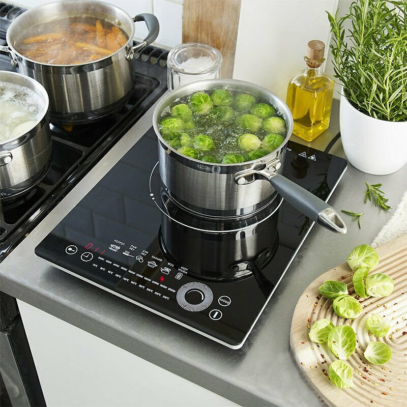 lakeland smart touch electric portable induction hob 1. Black Bedroom Furniture Sets. Home Design Ideas