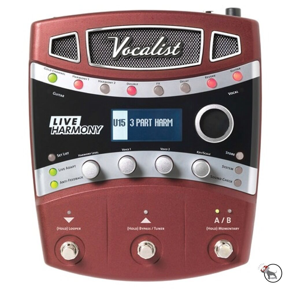 digitech vocalist live harmony vocal guitar fx multi effects processor pedal ebay. Black Bedroom Furniture Sets. Home Design Ideas