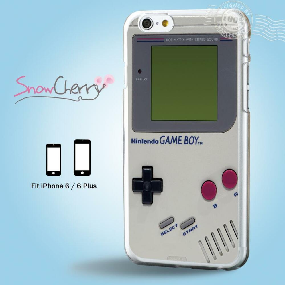Case Design designer cell phone case : iPhone 7 SE 6 6S Plus Case Cover Cool Game Boy F6002 : eBay