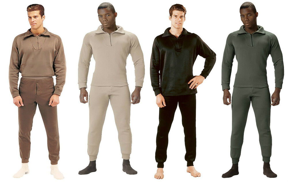 Rothco Extreme Cold Weather Polyester Long John Underwear ...