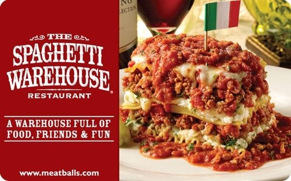 Spaghetti warehouse coupons pittsburgh